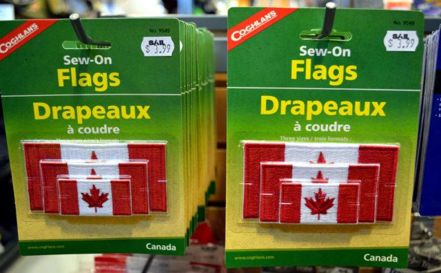 カナダ人は国旗が大好き